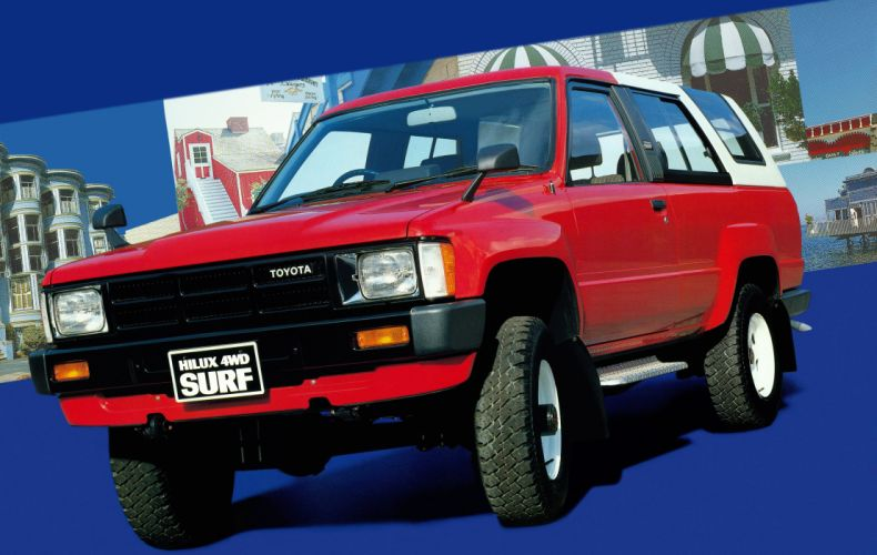 Toyota Hilux Surf 1984 wallpaper