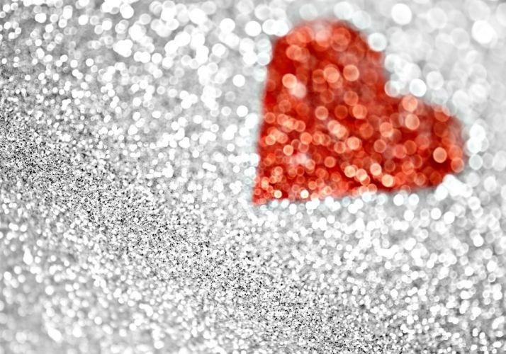 valentine heart glitter texture wallpaper