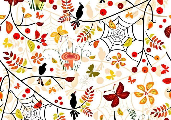 pattern autumn texture wallpaper