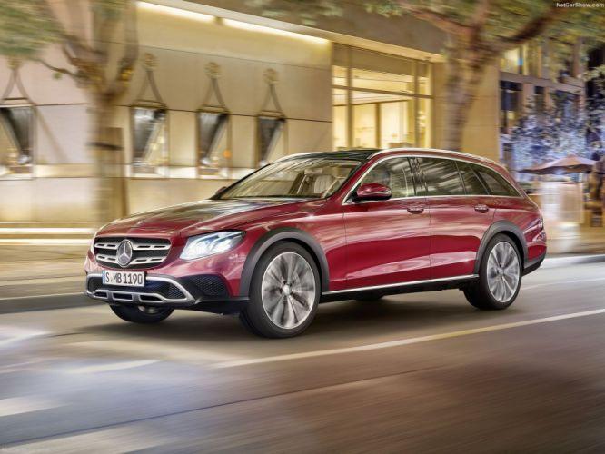 Mercedes Benz E-Class All-Terrain wagon cars 2016 wallpaper