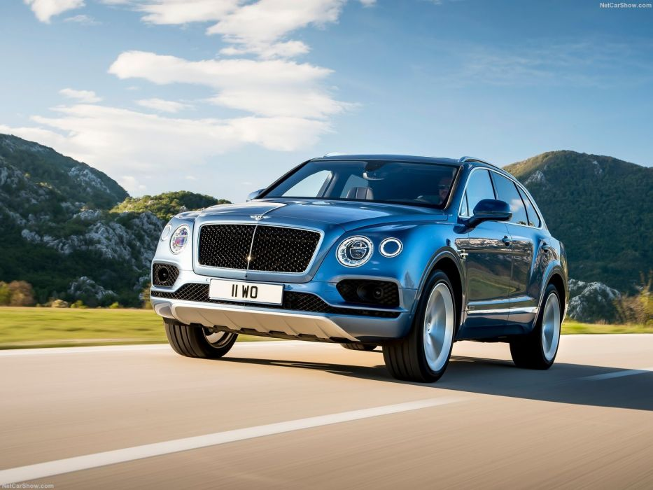 2016 Bentley Bentayga Diesel cars suv wallpaper