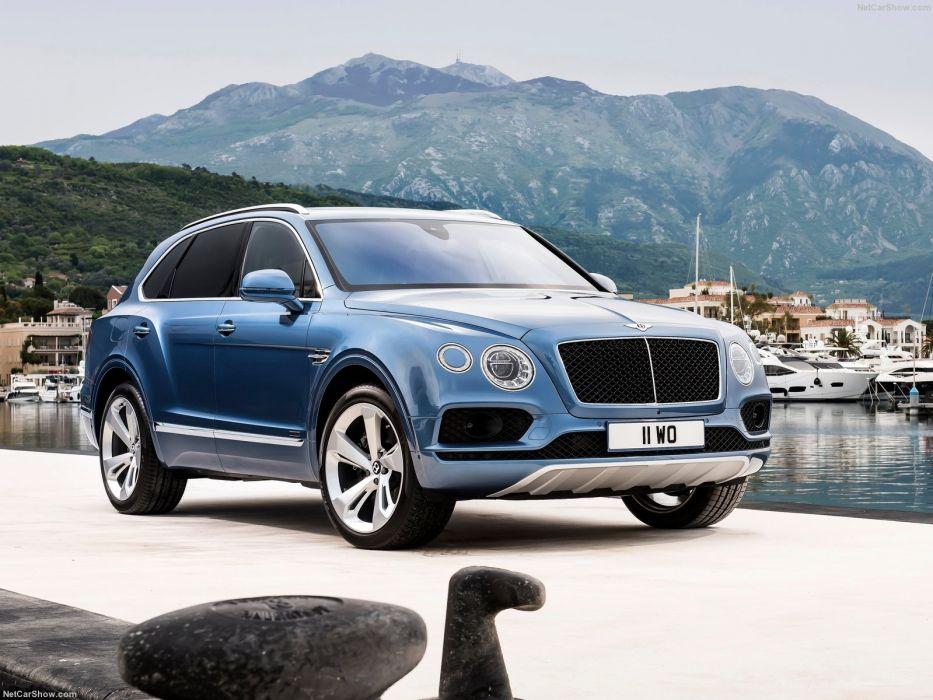 2016 Bentley Bentayga Diesel cars suv wallpaper