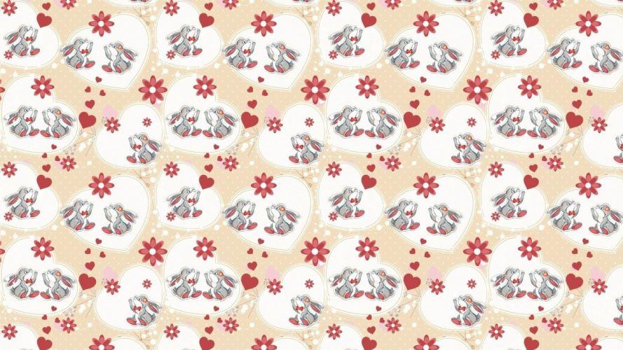bunny texture wallpaper