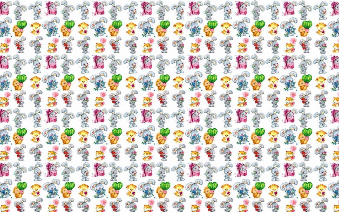 texture bunny  wallpaper