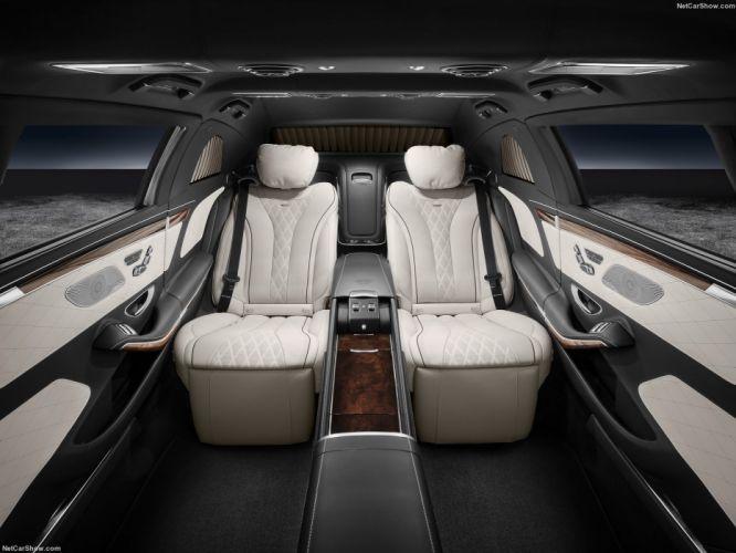 Mercedes Benz S600 interior Pullman Maybach Guard cars 2017 wallpaper