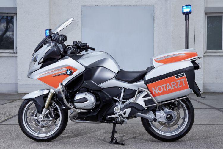 BMW R 1200 RT Notarzt motorcycle 2015 wallpaper