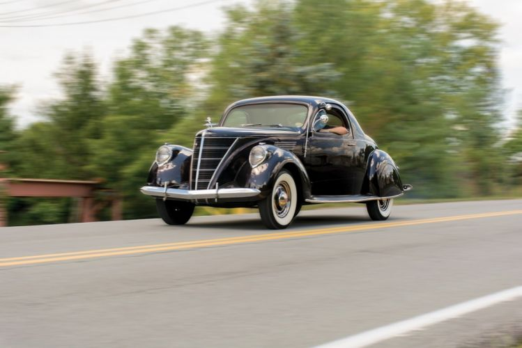 1937 Lincoln Zephyr Coupe cars classic wallpaper