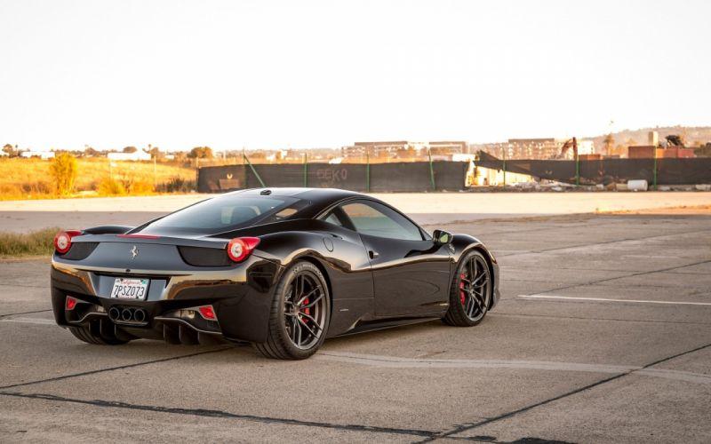2016-Vorsteiner-Ferrari-458-V-FF-105-Black-Static-4-1920x1200 wallpaper