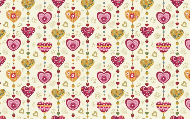 hearts texture vector graphics wallpaper