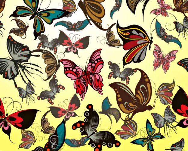 texture butterfly wallpaper
