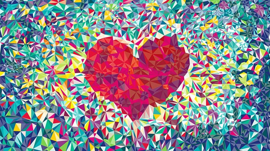 texture heart wallpaper