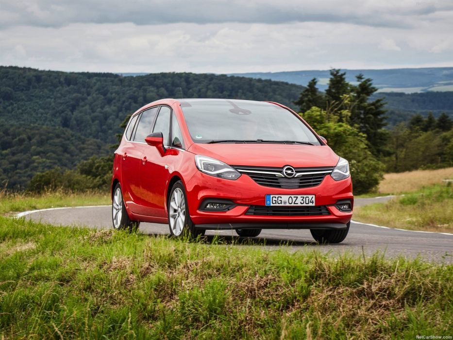 Opel Zafira cars 2016 wallpaper
