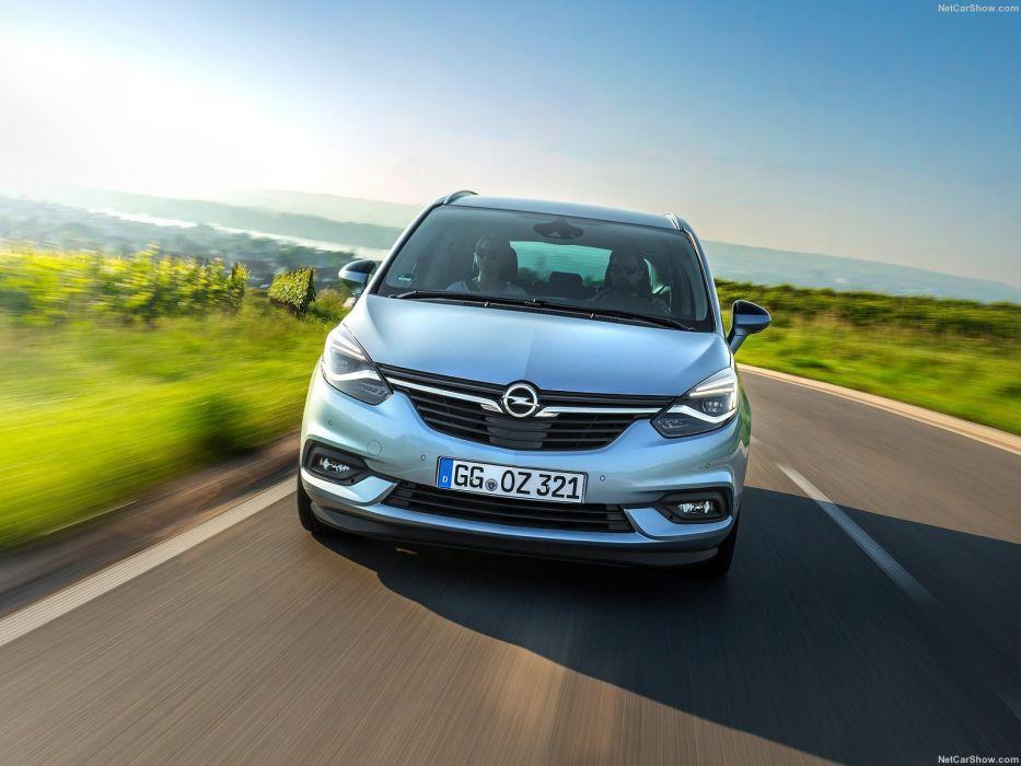 Opel Zafira cars 2016 wallpaper