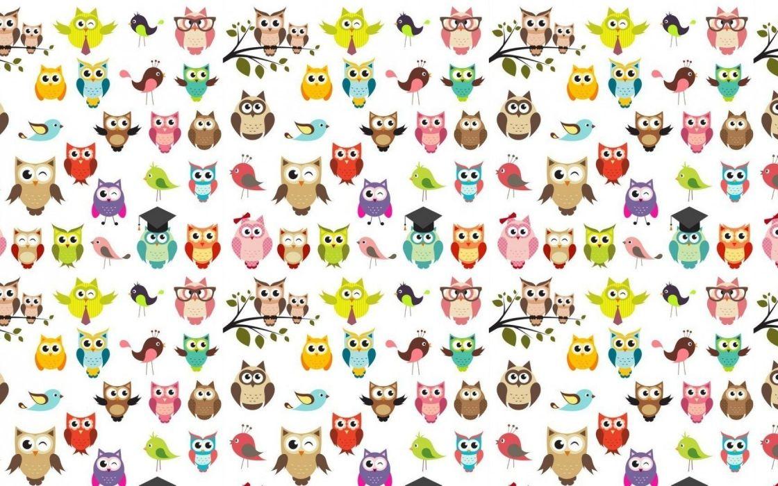 owl Textures wallpaper