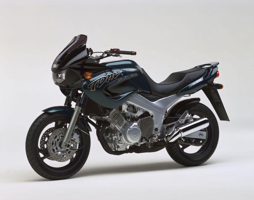 Yamaha TDM 850 motorcycles 1996 wallpaper