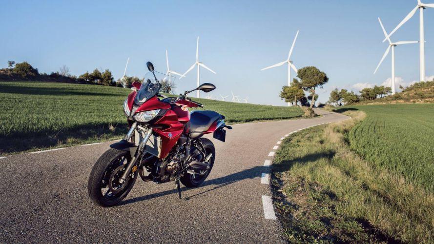 Yamaha Tracer 700 motorcycles 2016 wallpaper