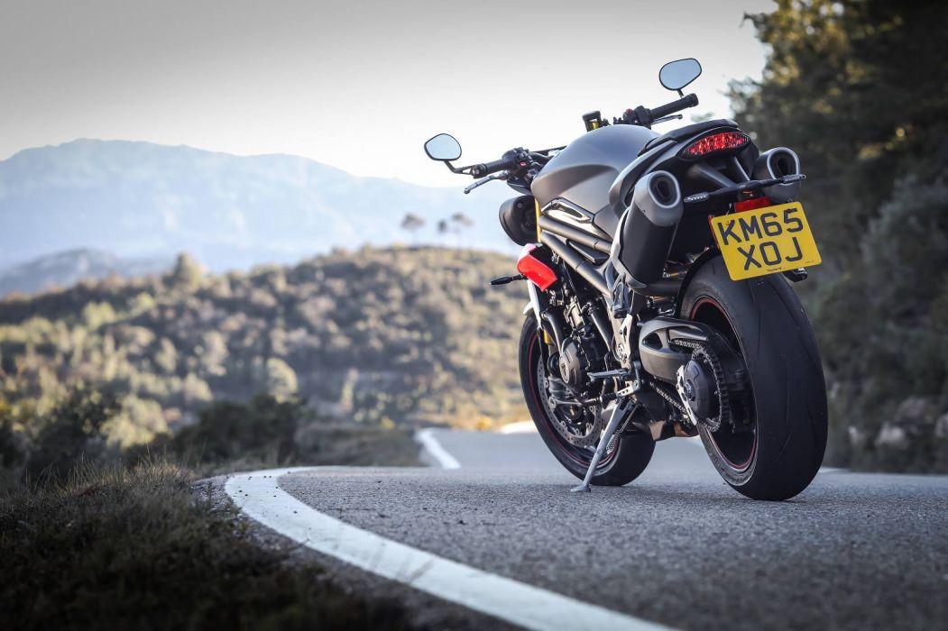 TRIUMPH SPEED TRIPLE R motorcycles 2016 wallpaper