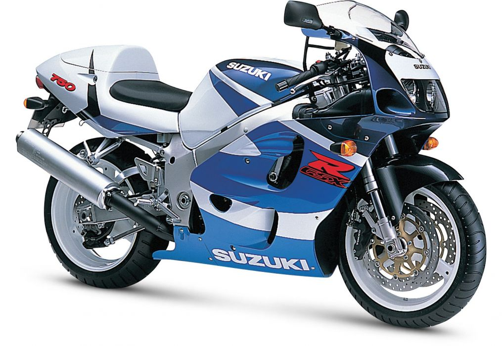 1999 Suzuki GSX-R750 motorcycles wallpaper