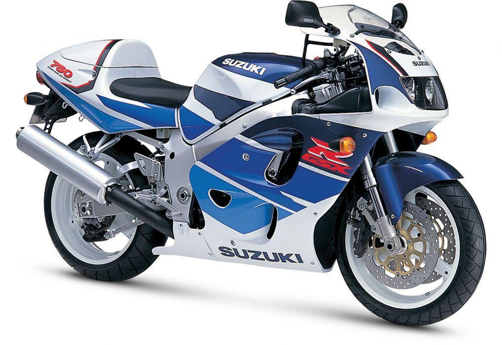 1997 Suzuki GSX-R750 motorcycles wallpaper