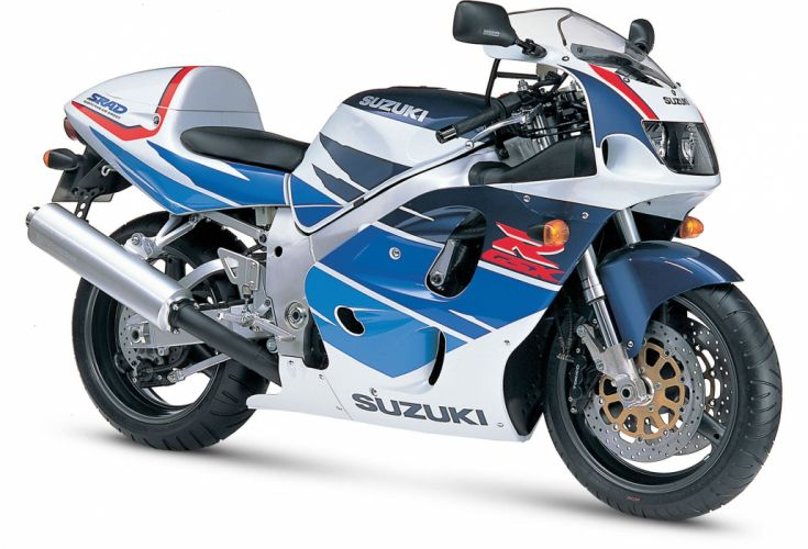 1996 Suzuki GSX-R750 motorcycles wallpaper