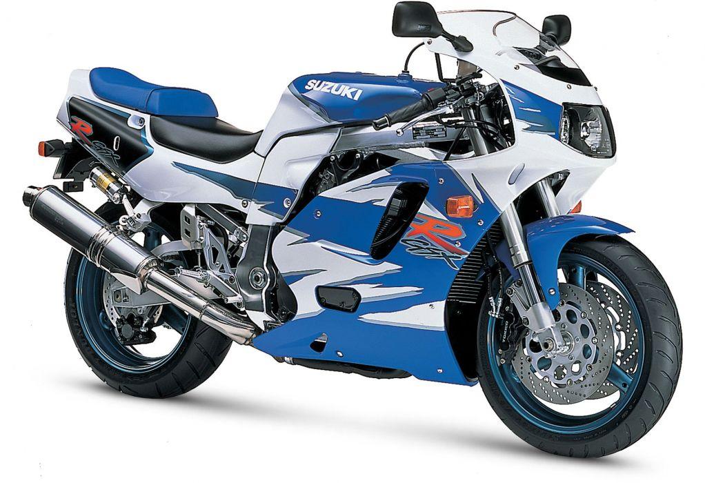 1995 Suzuki GSX-R750 motorcycles wallpaper