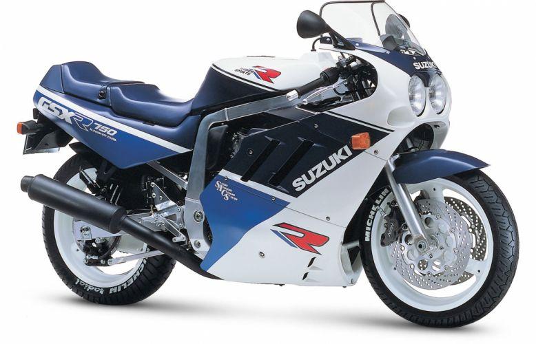 1988 Suzuki GSX-R750 motorcycles wallpaper