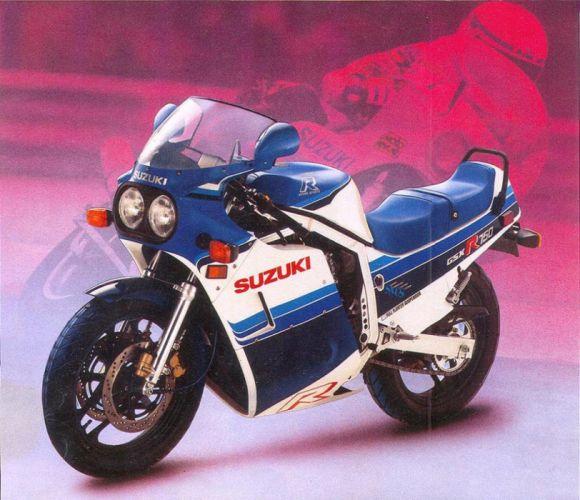 1986 Suzuki GSX-R750 motorcycles wallpaper