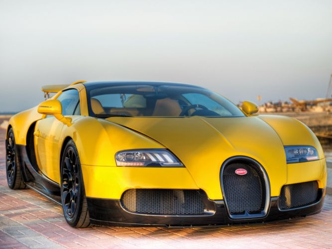 Bugatti Veyron Grand Sport Roadster Middle East Edition 2012 wallpaper