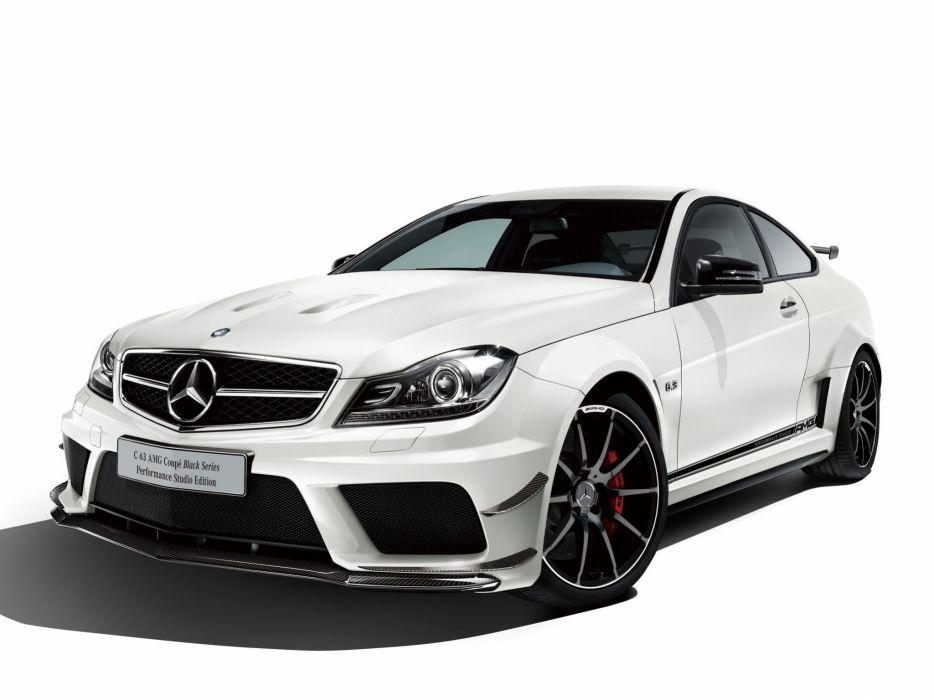 Mercedes-Benz C63 AMG Black Series Coupe Performance Studio Edition 2012 wallpaper