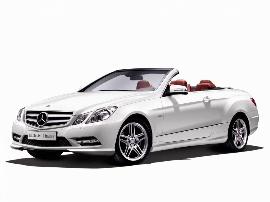 Mercedes-Benz E350 BlueEfficiency Cabrio Exclusive Limited 2012 wallpaper