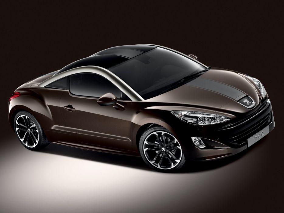 Peugeot RCZ Brownstone 2012 wallpaper