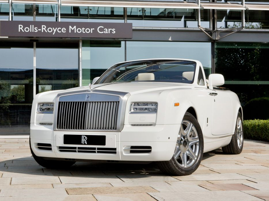 Rolls-Royce Phantom Drophead Coupe London 2012 wallpaper