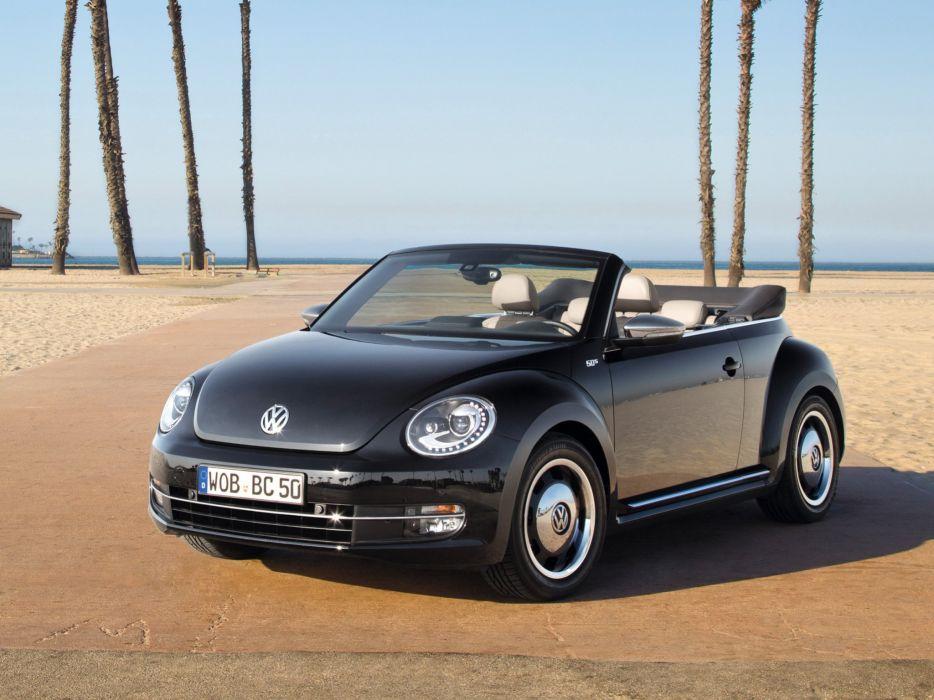 Volkswagen Beetle Cabrio 50s Edition 2012 wallpaper