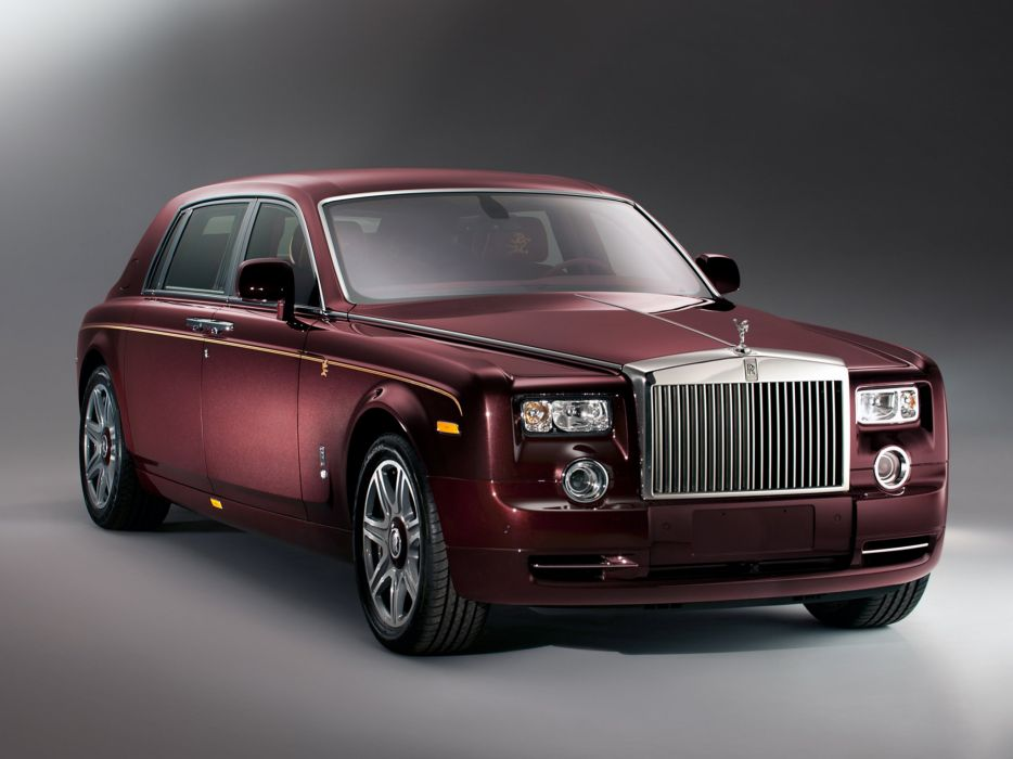 Rolls-Royce Phantom Year of the Dragon 2012 wallpaper