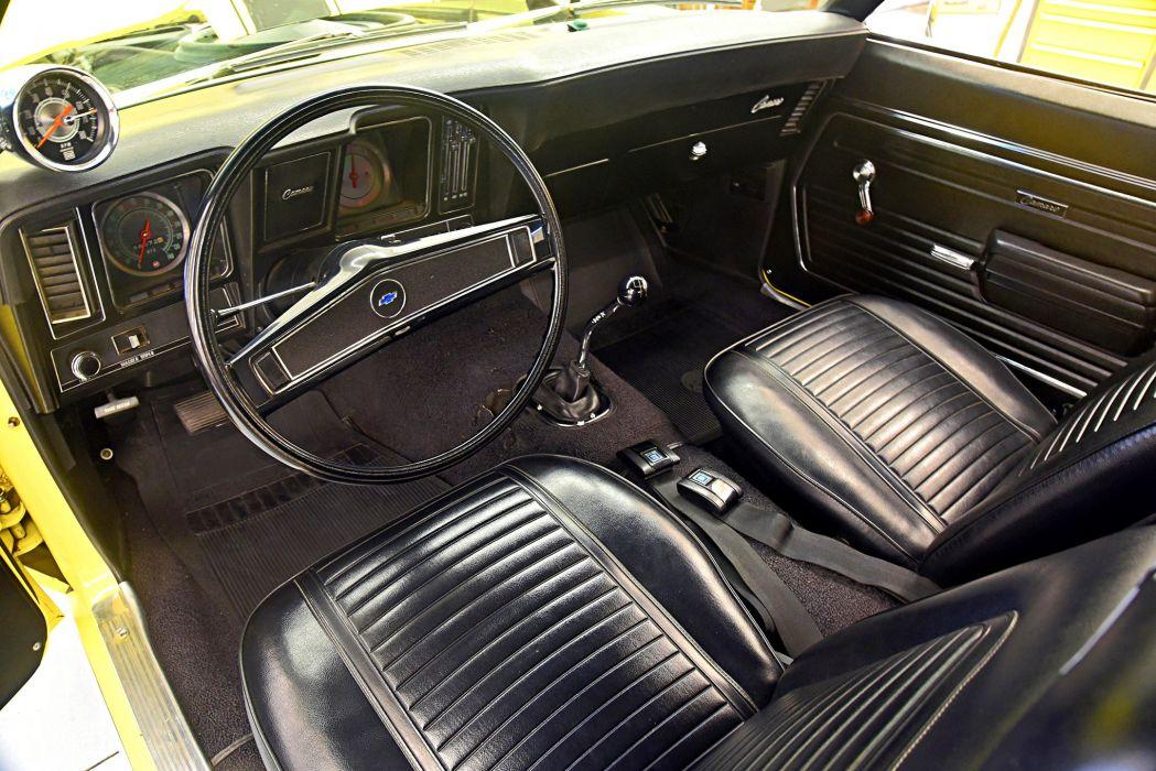 Yenko 1969 Chevrolet Camaro cars muscle yellow wallpaper