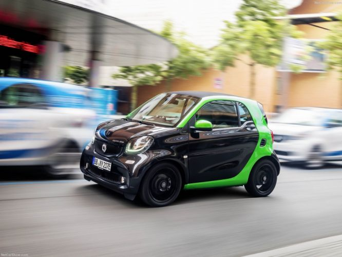 Smart fortwo electric drive cars 2016 wallpaper