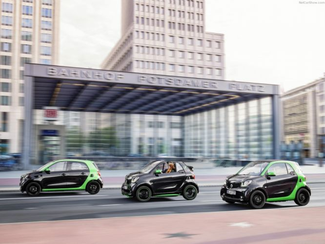 Smart electric drive sy wallpaper