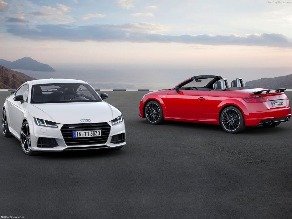 Audi TT Roadster S-line competition cars 2016 wallpaper
