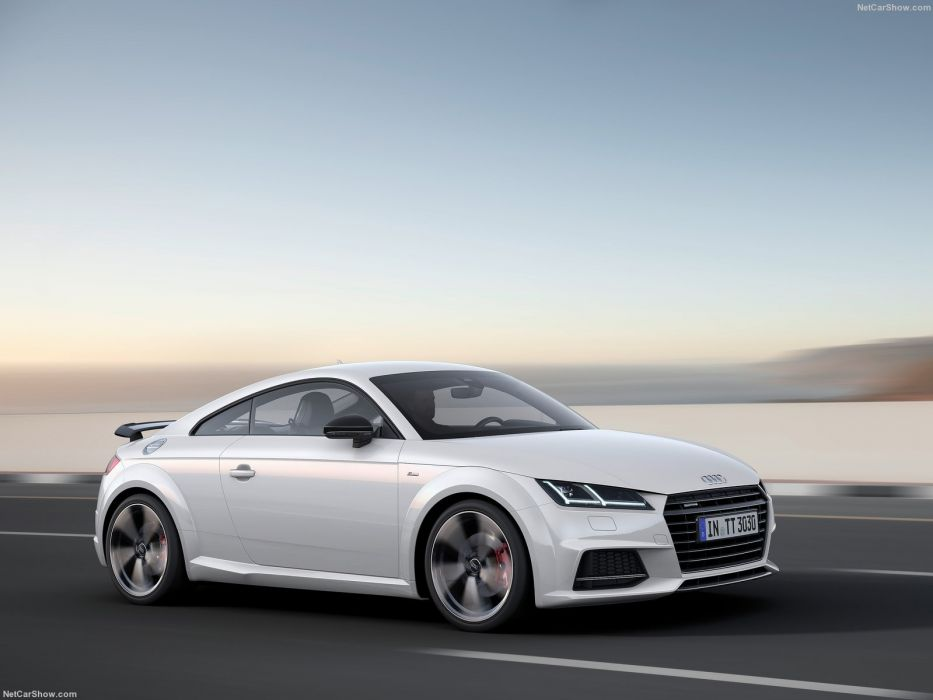 Audi TT Coupe S-line competition cars 2016 wallpaper