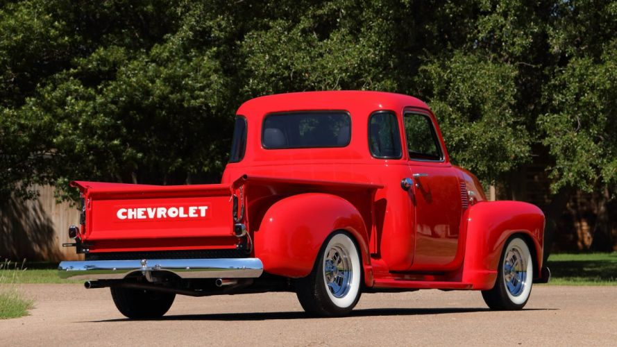 1950 CHEVROLET 3100 5-WINDOW PICKUP truck wallpaper