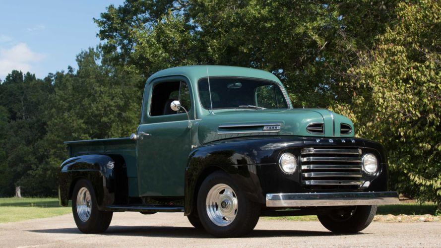 1948 FORD F1 PICKUP truck wallpaper