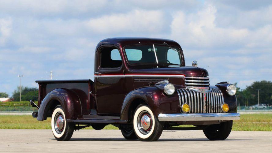 1947 CHEVROLET PICKUP truck wallpaper
