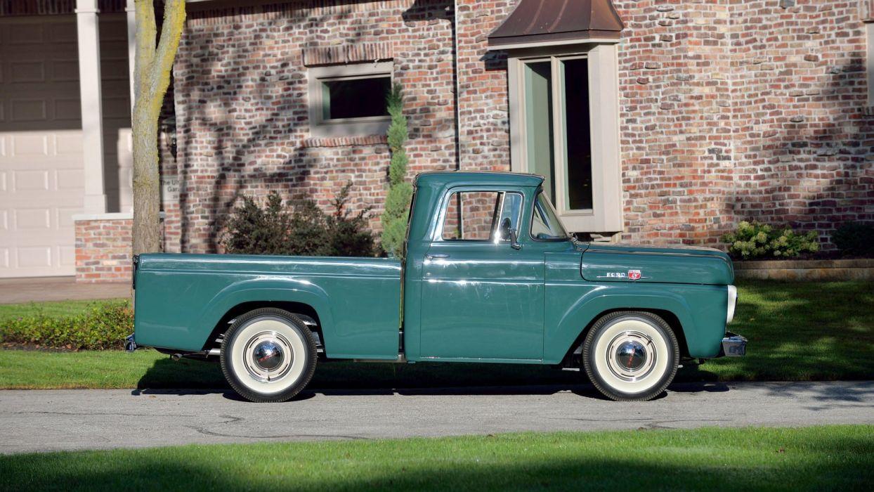 1959 FORD F100 PICKUP truck wallpaper