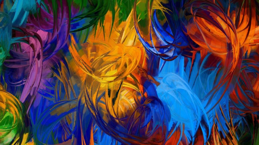 texture colorful paint wallpaper