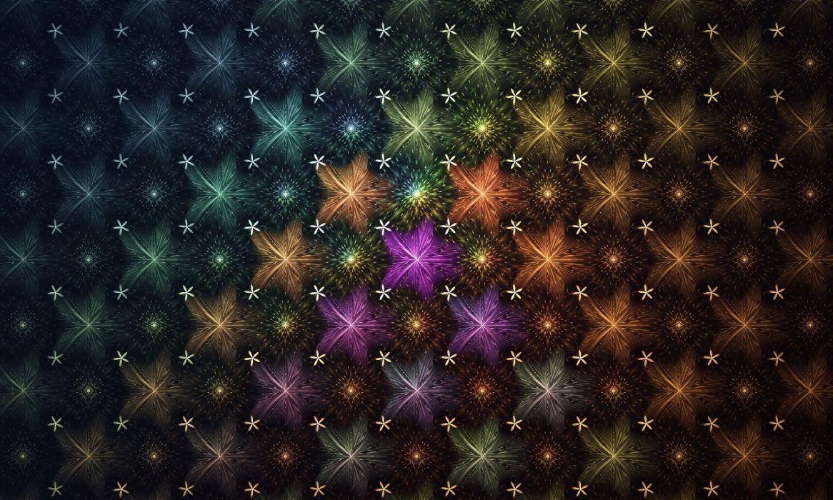 texture flower star wallpaper