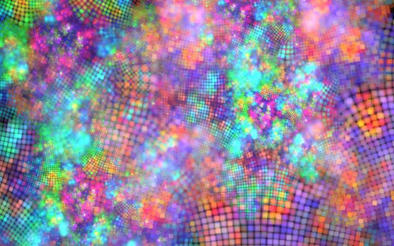 Textures Colorful grid wallpaper