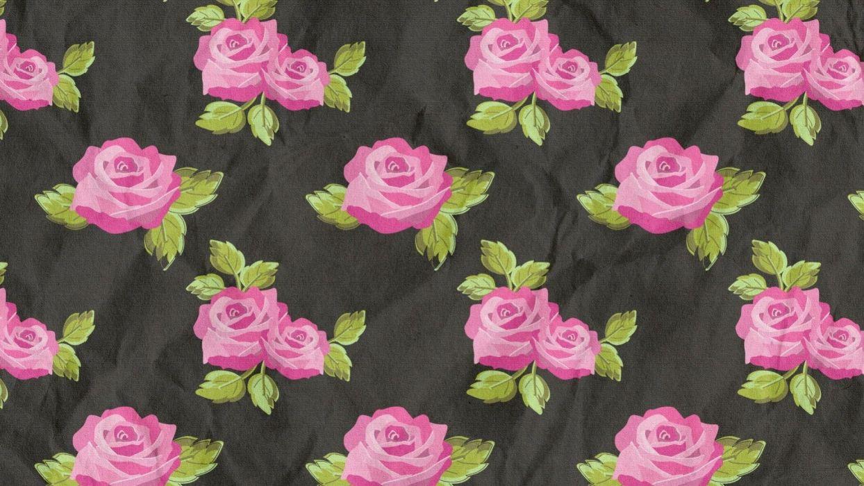 Textures pink rose wallpaper