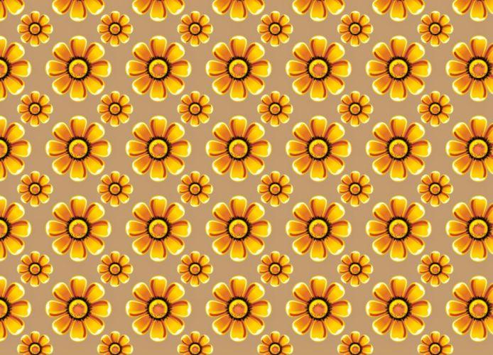 Textures yellow flower wallpaper