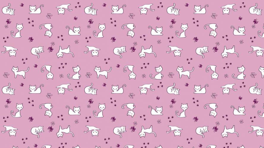Textures Texture kitty wallpaper