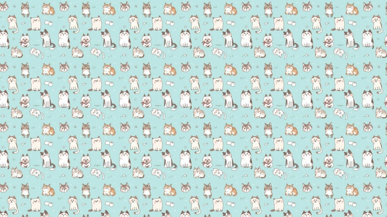 Textures Texture cat kitty wallpaper